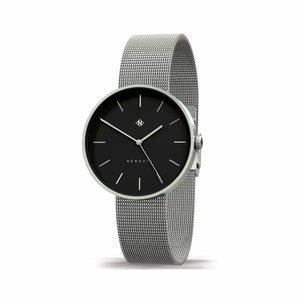 Newgate  Horloge The Drumline zilver en zwart