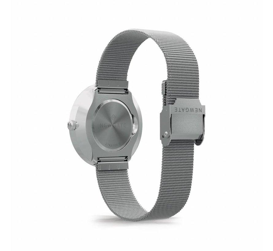 Newgate Horloge The Drumline zilver en zilver