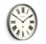 Newgate  Wall clock Number one Italian gray