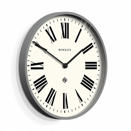Newgate  Wall clock Number one Italian gray