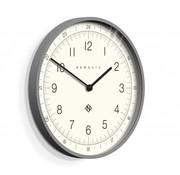 Newgate  Wall clock Number one Torpedo gray
