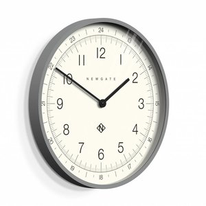 Newgate  Wall clock Number one Torpedo gray