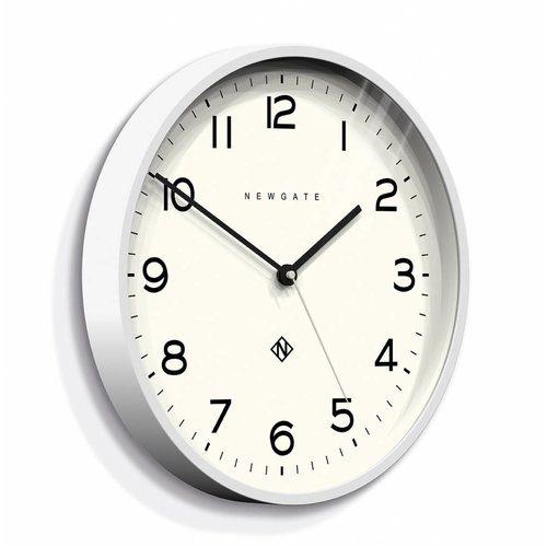 Newgate  Wall clock Number three Echo white