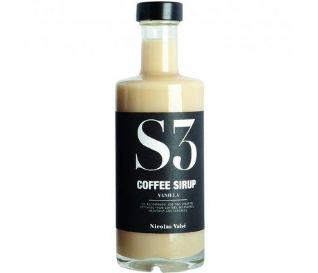 Nicolas Vahe Koffiesiroop vanille 25cl