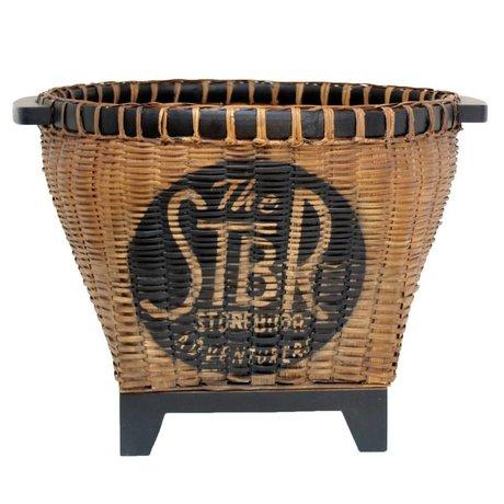 Storebror Mand Wicker basket riet 37x47x47cm