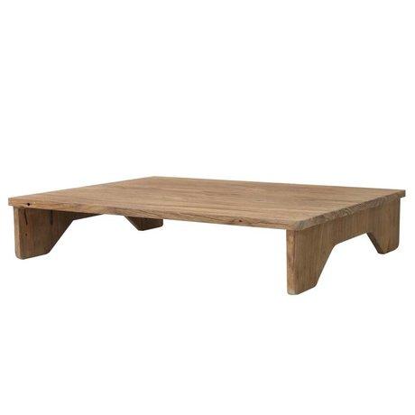 HK-living Dienblad hout 45x45x9cm