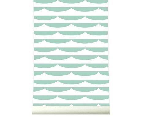 Roomblush Behang Storm pastelgroen papier 1140x50cm