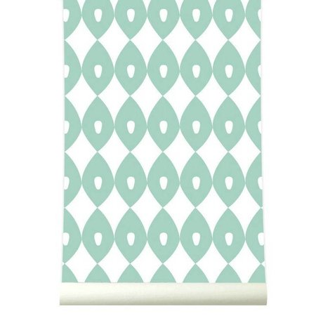 Roomblush Behang Blossom pastelgroen papier 1140x50cm
