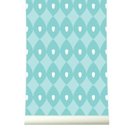 Roomblush Behang Blossom cyaan papier 1140x50cm