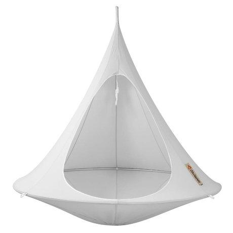 Cacoon Hangstoel tent Double 2-persoons grijs180x150cm