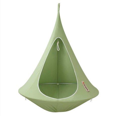 Cacoon Hangstoel tent Single 1-persoons groen 150x150cm