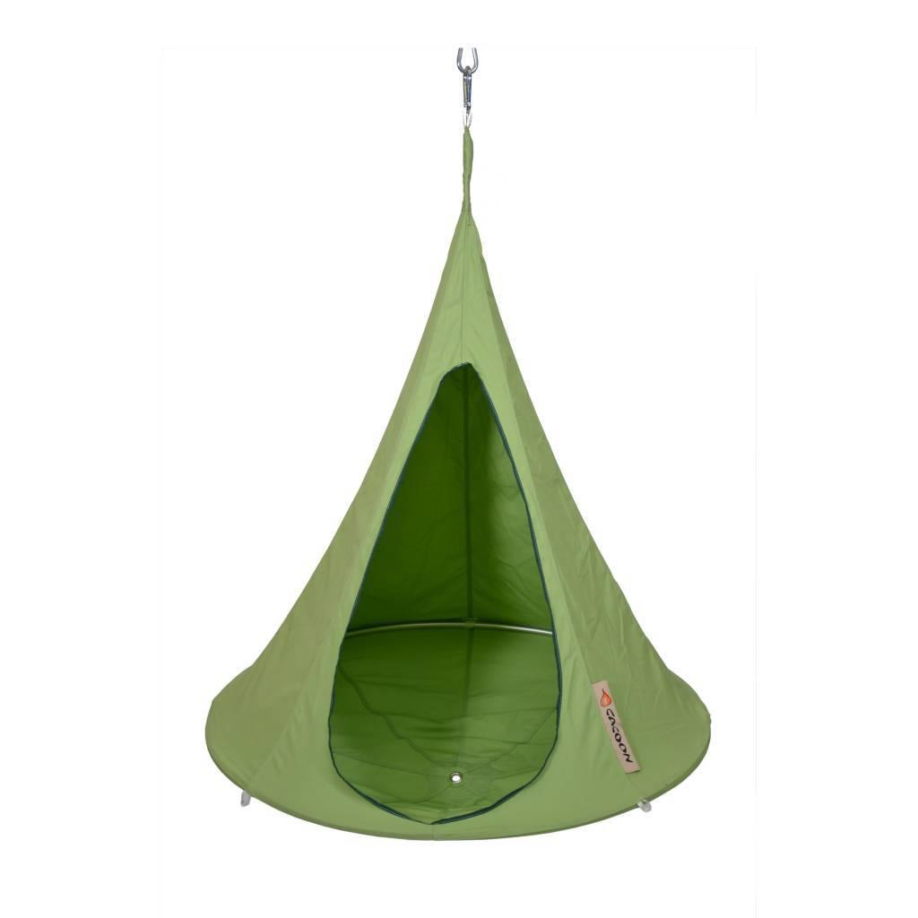 Hangstoel Voor Kinderen.Cacoon Hangstoel Tent Bonsai Groen 125x120cm Lefliving Be