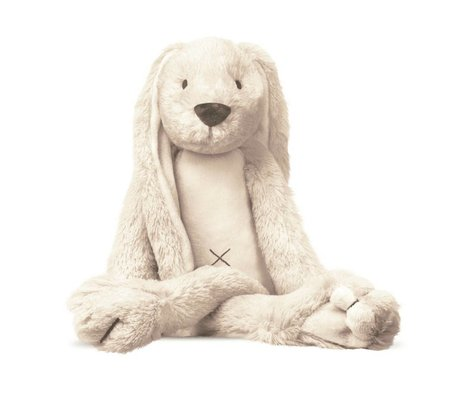 KEK Amsterdam Muursticker Rabbit Richie gebroken wit / ivoor 22x21cm