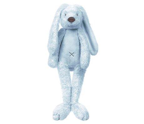 KEK Amsterdam Muursticker Rabbit Richie blauw 17x40cm