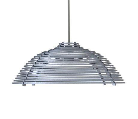 Graypants Hanglamp Luna grijs aluminium Ø41x15cm