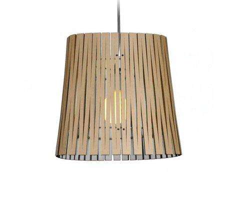 Graypants Hanglamp Ripley wit karton Ø29x31cm