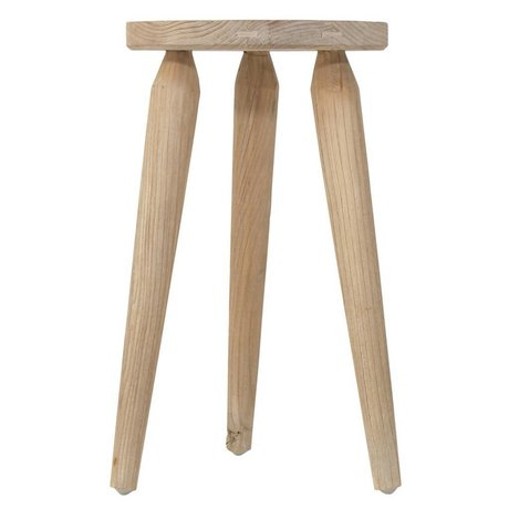 Storebror Kruk Rustic bruin naturel hout 30x45cm