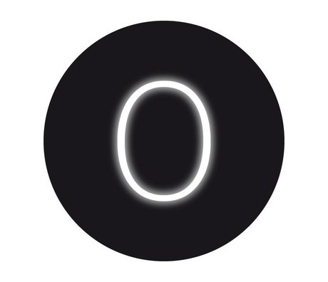 Seletti Wandlamp cijfers en symbolen NEON art 0/9