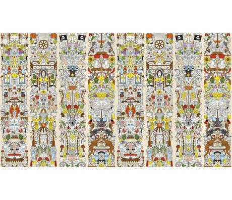 NLXL-Studio Job Behang 'Alt Deutsch 04' papier 900x48.7cm