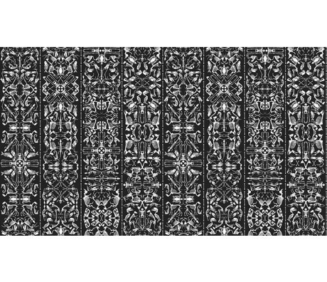 NLXL-Studio Job Behang 'Perished 03' papier 900x48.7cm zwart/wit