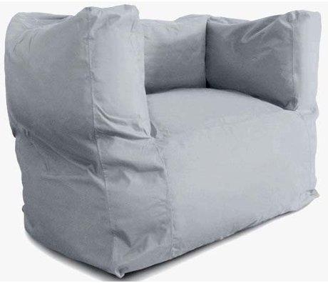 BRYCK Loungestoel 'Chair GREYlight' lichtgrijs textiel 75x75x100cm
