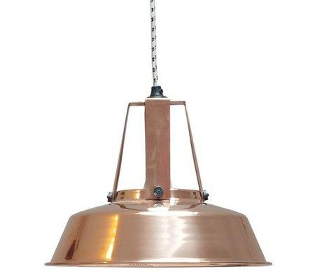 """HK-living Hanglamp koper metaal Ø29,5cm, Industriële lamp """"Workshop"""" M"""