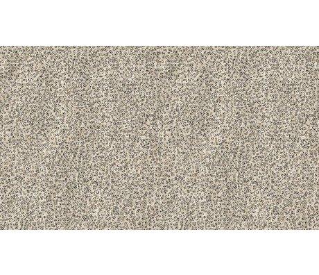 NLXL-Arthur Slenk Behang 'Remixed 4' papier 900x48.7cm creme/zwart