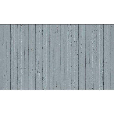 Piet Hein Eek Behang 'Sloophout 12' papier grijs/blauw 900 x 48,7 cm