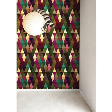 KEK Amsterdam Behang papier multicolour 8.3m x 47.5 cm, Wallpaper 063