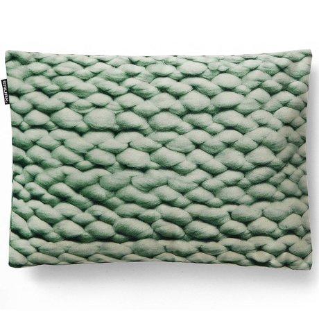 Snurk Beddengoed Sierkussen hoes Twirre minty green, 35x50cm, groen