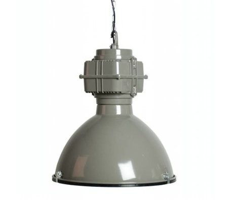 Zuiver Hanglamp grijs metaal Ø52x56cm Vic Industry grey