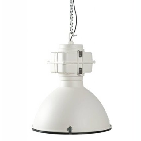 Zuiver Hanglamp wit metaal Ø52x56cm Vic Industry white