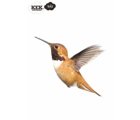 KEK Amsterdam Muursticker humming bird forestfriends in 2 maten