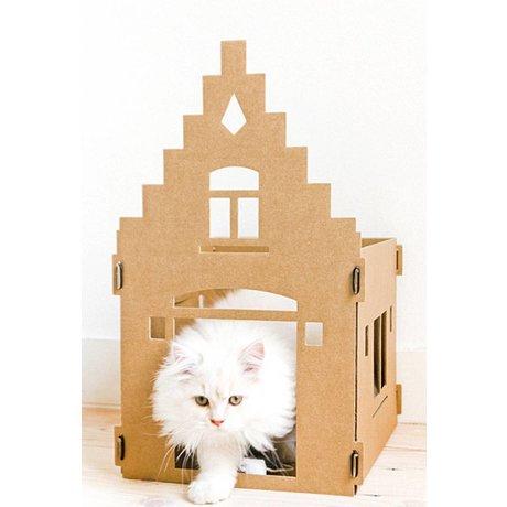 KEK Amsterdam Kattenpandje van karton Mighty mansion