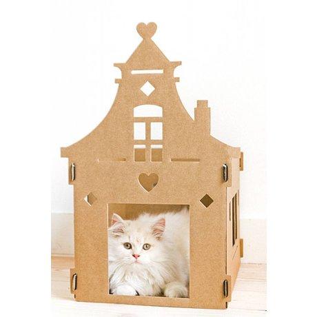 KEK Amsterdam Kattenpandje van karton Vintage villa