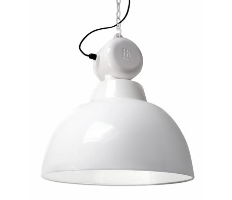 "HK-living Hanglamp wit metaal Ø50cm, industriële lamp ""Factory"" L"