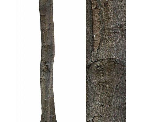 KEK Amsterdam Muursticker boomstam 'Home tree 1' bruin/groen 28x260cm vinyl