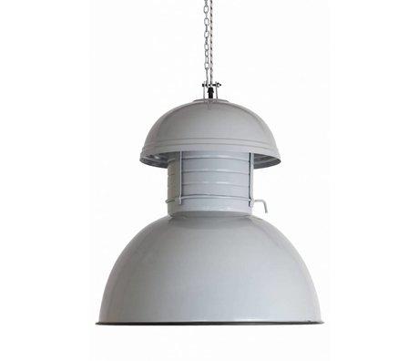"HK-living Hanglamp grijs metaal Ø42cm, Industriële lamp ""Warehouse"" L"
