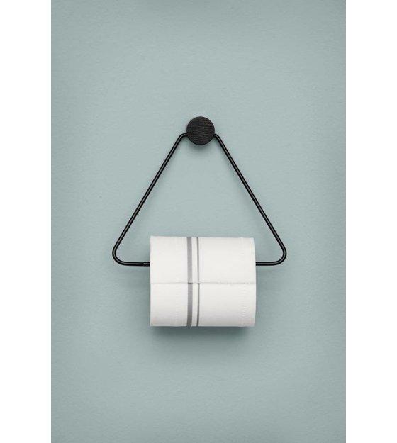 Ferm Living WC rol houder zwart metaal 17x5x15cm  leflivingbe # Jysk Wc Rolhouder_081306