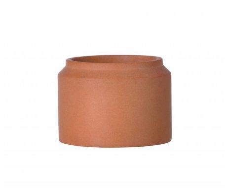 Ferm Living Pot voor plant Ochre beton small ø15x11cm