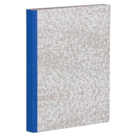Ferm Living Ringband White Splash Binder wit grijs blauw 25x31.5cm