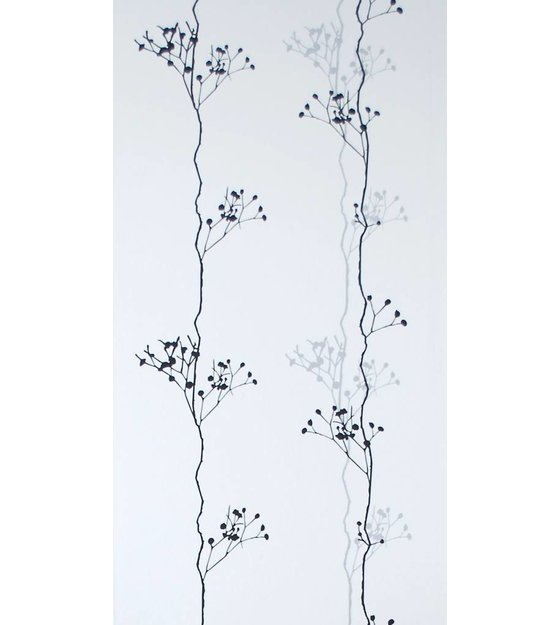 black zwart wit 10 05x0 53m ferm living behang berry black zwart wit ...