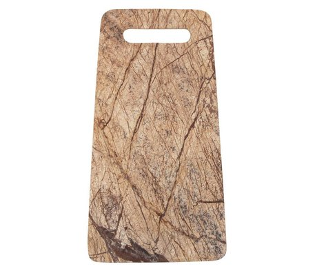 Storebror Broodplank Forest Marble houtprint 31,5x18x1,3cm