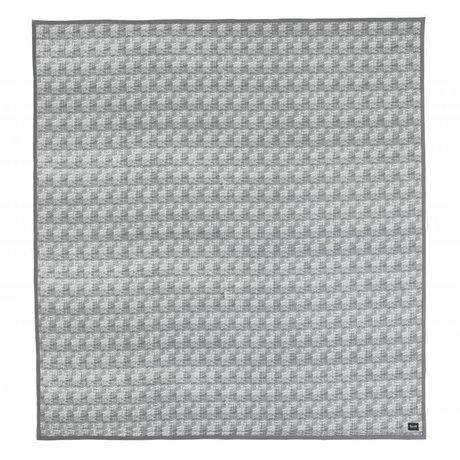 Ferm Living Quilt Static grijs 235x245cm