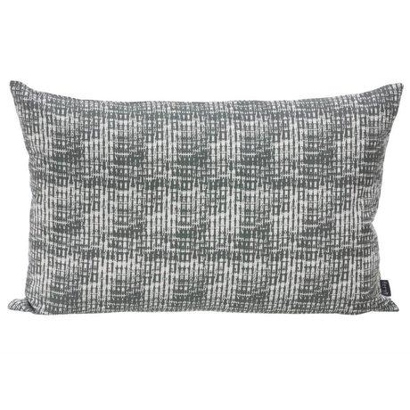 Ferm Living Sierkussen Static grijs wit 60x40cm