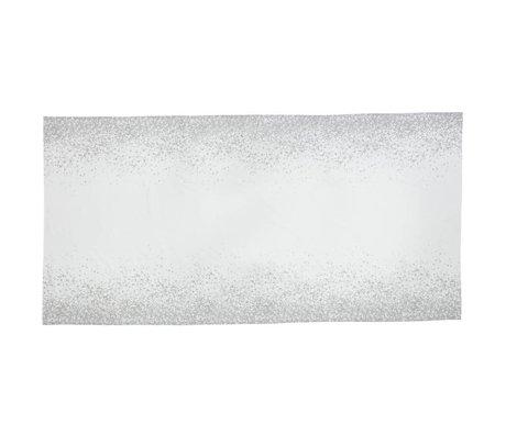 Ferm Living Tafelkleed Splash grijs wit 100% katoen 2 maten