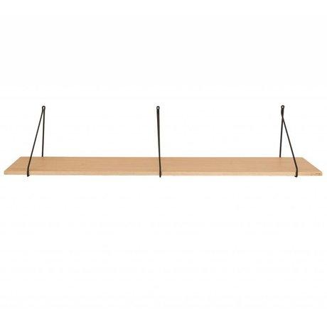 Housedoctor Wandplank Apart eiken fineer 129x25,5x26cm