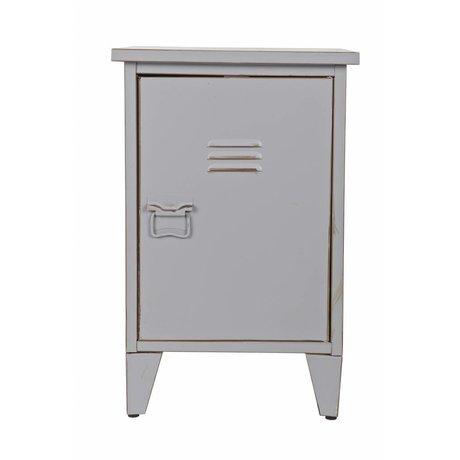 LEF collections Nachtkastje 'Max' rechtsdraaiend grijs 40x35x60,5cm