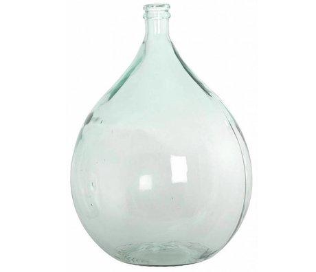 Housedoctor Fles/vaas 100% gerecycled glas Ø40cm hoogte 56cm 34lt