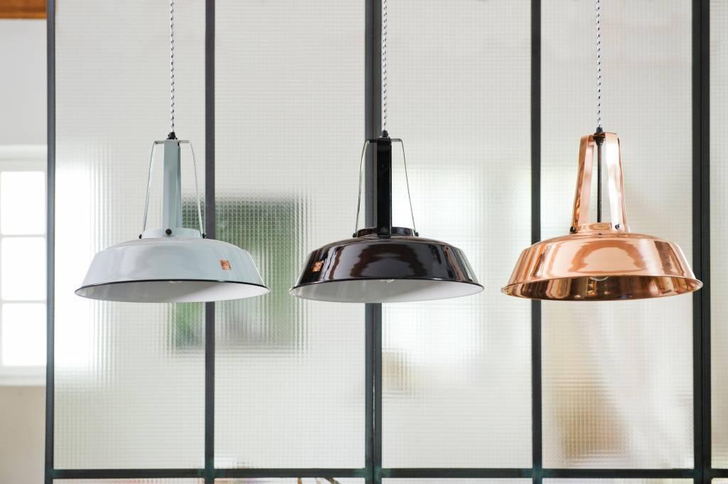 Hk living hanglamp workshop m zwart cm lefliving be